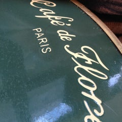 Photo taken at Café de Flore by Ophelie L. on 10/27/2012