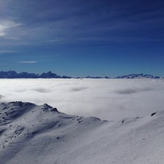 Photo taken at Pointe de la Masse by Alexander S. on 1/21/2014