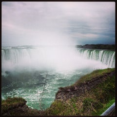 Photo taken at Niagara Falls (Canadian Side) by Vicky C. on 5/15/2013