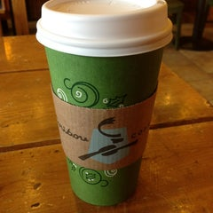 Photo taken at Caribou Coffee by Travis C. on 1/6/2013