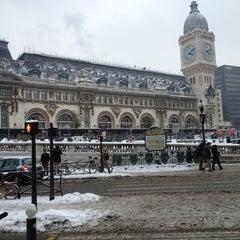 Photo taken at Gare SNCF de Paris Lyon by Marco Adiles M. on 1/27/2013