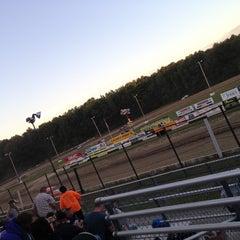 Photo taken at Albany-Saratoga Speedway by Amanda C. on 7/27/2013