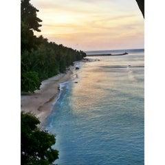 Photo taken at Sumur Tiga Beach. by Kaka A. on 8/23/2015