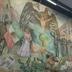 Photo taken at Metro Universidad (Línea 3) by Tonatiuh S. on 10/16/2012