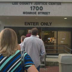 Photo taken at Lee County Justice Center by Alex J. on 9/9/2015