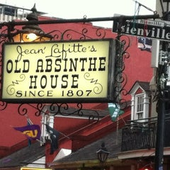 Photo taken at The Old Absinthe House by Lon B. on 10/1/2012