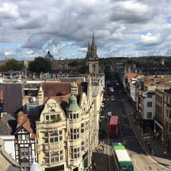 Photo taken at Carfax Tower by Ceren K. on 10/8/2015