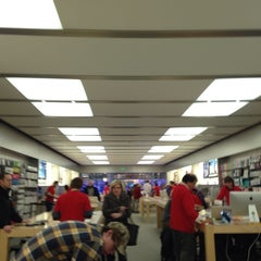Photo taken at Apple Store, Maine Mall by Greg S. on 12/10/2013