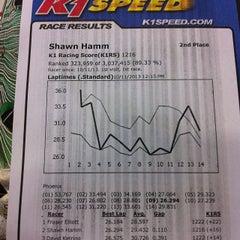 Photo taken at K1 Speed Phoenix by Shawn H. on 10/11/2013