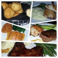 Photo taken at Stoney River Legendary Steaks by Joy C. on 4/8/2013