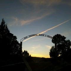 Photo taken at Zion Ponderosa Ranch Resort by Natalia on 11/14/2012