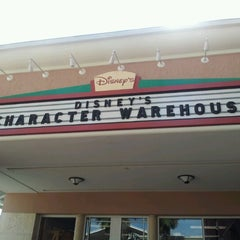 Photo taken at Disney's Character Warehouse by Natalia on 10/19/2012