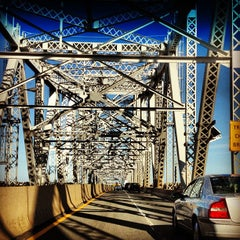 Photo taken at Outerbridge Crossing by Stephen Christopher N. on 9/21/2012