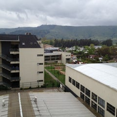 Photo taken at Universidad Autónoma de Chile Talca by Roberto Emilio V. on 10/5/2012
