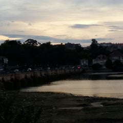 Photo taken at San Vicente de la Barquera by Fred on 8/26/2015