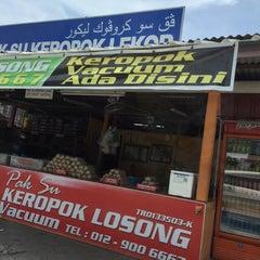 Photo taken at Keropok Lekor Pak Su by deana m. on 4/13/2015