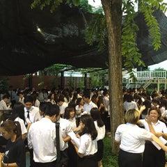 Photo taken at ใต้ถุนนิเทศ (Taitoon Nitade) by Mac K. on 8/10/2015
