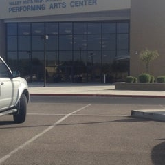 Photo taken at Valley Vista High School Performing Arts Center by Katherine on 10/4/2012