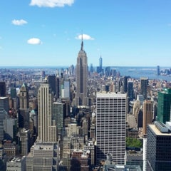 Photo taken at Top of The Rock Observation Deck by ✈✈ Mhmtali. ✈✈ on 5/30/2013