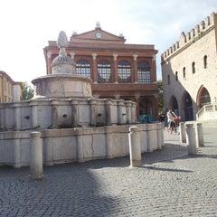 Photo taken at Fontana della Pigna by Gabriele Z. on 10/16/2012