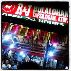 Photo taken at R&J Bulalohan by Ritzzon C. on 5/11/2013