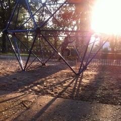 Photo taken at Parque Charles Hamilton by Diego O. on 5/4/2013