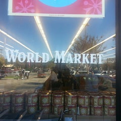 Photo taken at World Market by Tray T. on 11/24/2012