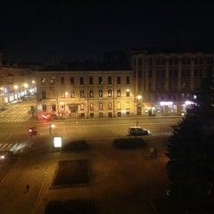 Photo taken at Памятник Добролюбову by OKES on 5/8/2013