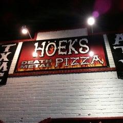Photo taken at Hoek's Death Metal Pizza by Joe P. on 6/15/2013