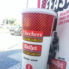 Photo taken at Checkers by elliott b. on 6/4/2013