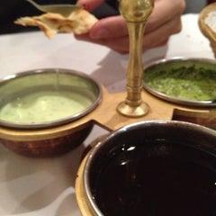 Photo taken at Indian Restaurant Shanti by Raquel R. on 12/7/2012