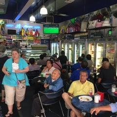 Photo taken at La Nueva Bakery by Geoffroy B. on 7/4/2015