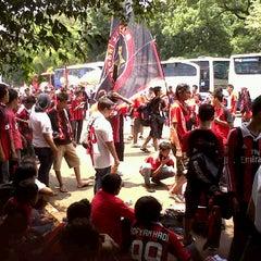 Photo taken at Parkir Timur Senayan by Henry Anggana Saputra on 2/9/2013