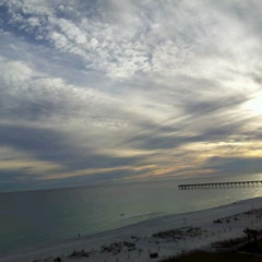 Photo taken at Hilton Pensacola Beach by Rebecca W. on 1/7/2013