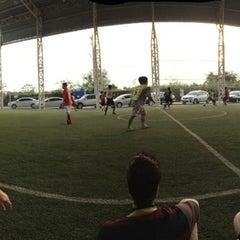 Photo taken at Boy Tarprajun FC by Tikamporn W. on 4/19/2014