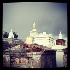 Photo taken at St. Louis Cemetery No. 1 by Robot55 on 9/30/2012