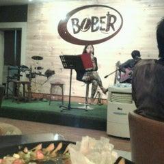 Photo taken at Bober Cafe by Dadi P. on 11/16/2012