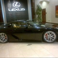 Photo taken at Lexus of Palm Beach by Princess F. on 12/9/2012