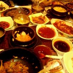 Photo taken at BCD Tofu House by Malen on 4/14/2013