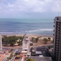 Photo taken at Spazzio Hotel Residence Fortaleza by Marinha B. on 2/24/2013