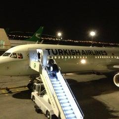 Photo taken at Saparmurat Turkmenbashi International Airport (ASB) by Ali D. on 4/6/2013