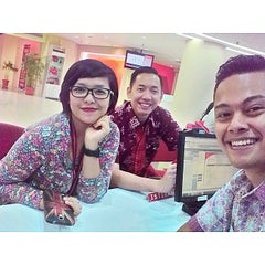 Photo taken at graPARI Telkomsel by Isra A. on 11/2/2014