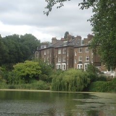 Photo taken at Hampstead Heath by Daniel D. on 7/20/2013