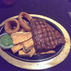 Photo taken at Sweetwater Steakhouse by David P. on 9/12/2013