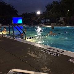 Photo taken at University Park Pool by Sarah M. on 8/2/2014