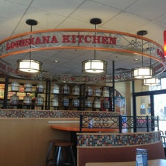 Photo taken at Popeye's by Ted O. on 3/16/2013
