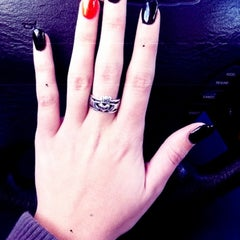 Photo taken at Wet Nail Bar by Courtney L. on 10/20/2012