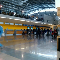 Photo taken at Aeropuerto Presidente Carlos Ibáñez del Campo (PUQ) by Florencio V. on 2/4/2013