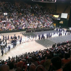 Photo taken at Patriot Center by Pícara on 6/8/2013