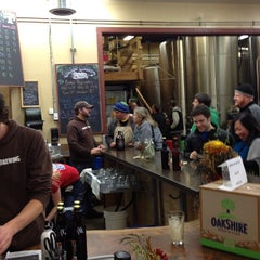Photo taken at Oakshire Brewing by Jesse R. on 11/24/2012